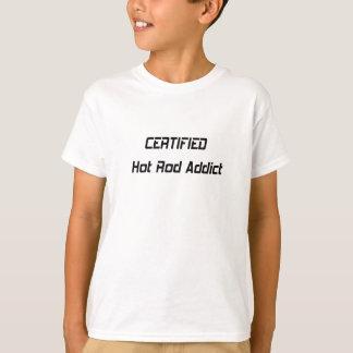 Zugelassener Auto-Süchtiger T-Shirt