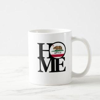 ZUHAUSE Aptos Kalifornien Kaffee-Tasse Kaffeetasse