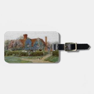 Zuhause bei Buckinghamshire c1900 Kofferanhänger