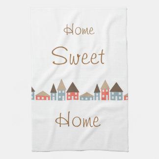 Zuhause-Bonbon-Zuhause Geschirrtuch