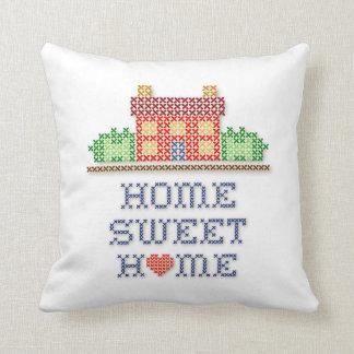 Zuhause-Bonbon-Zuhause Kissen