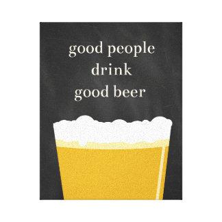Zuhause Brew Handwerks-Bier-Plakat - gute Leinwanddruck