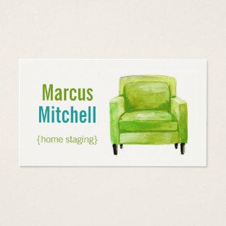 Zuhause-Inszenierungs-Geschäfts-Karten - Visitenkarte
