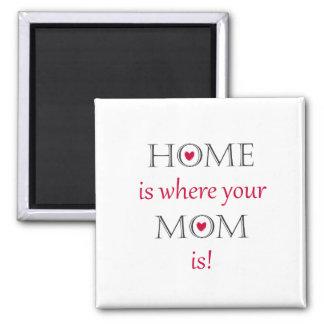 Zuhause ist, wo Ihre Mamma Magnet ist