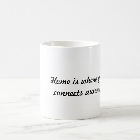 Zuhause ist wo… kaffeetasse