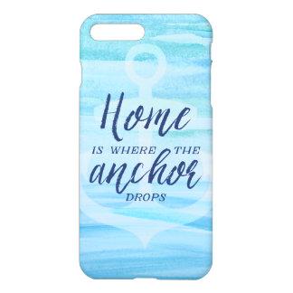 Zuhause ist, wohin der Anker fällt iPhone 8 Plus/7 Plus Hülle