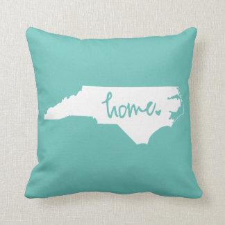 Zuhause-Nord-Carolinagewohnheits-Farbe Kissen