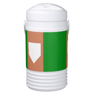 ZUHAUSE-PLATTE Iglu-Getränk cooler, halbe Gallone Igloo Getränke Kühlbox