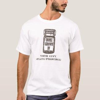 Zuhause-Stadteinmachendes Glas T-Shirt
