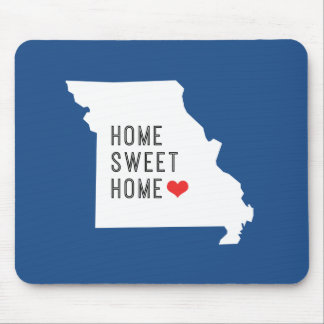 """Zuhause-süßes Zuhause-"" Missouri-Mausunterlage Mousepads"