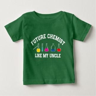 Zukünftiger Baseball-Spieler mögen meinen Onkel Baby T-shirt