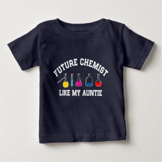 Zukünftiger Chemiker mögen meine Tante Baby T-shirt