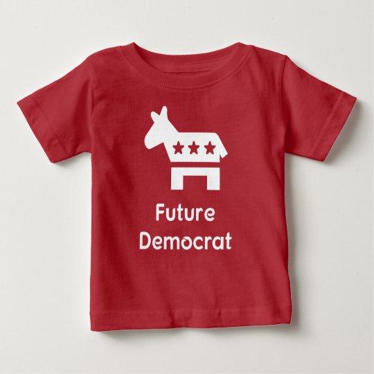 Zukünftiger Demokrat Baby T-shirt