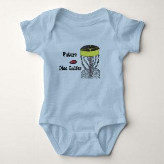 Zukünftiger Disc-Golfspielerbaby onsie Bodysuit Baby Strampler