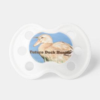 Zukünftiger Enten-Jäger-hellbraune Ente Schnuller