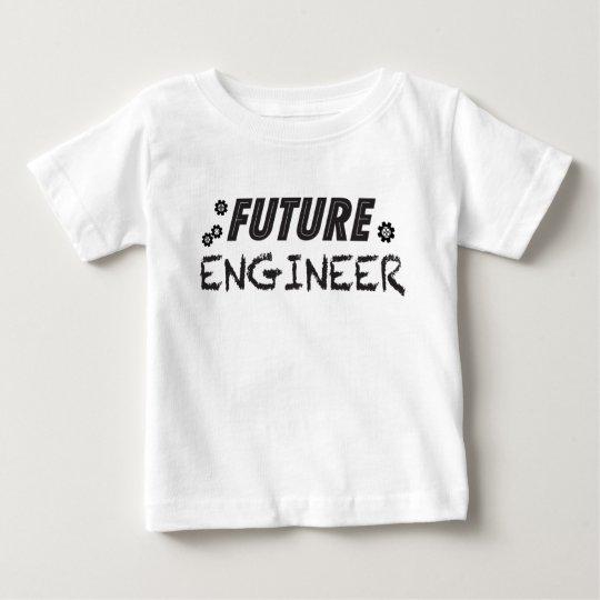Zukünftiger Ingenieur-Baby-T - Shirt