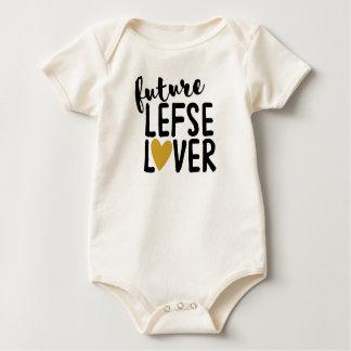 Zukünftiger Lefse Liebhaber Baby Strampler