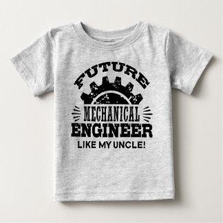 Zukünftiger Maschinenbauingenieur mögen meinen Baby T-shirt
