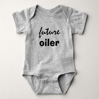 zukünftiger Öler Baby Strampler