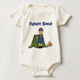 Zukünftiger Pfadfinder Baby Strampler