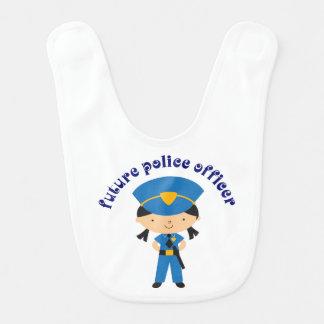 Zukünftiger Polizei Offier Lätzchen