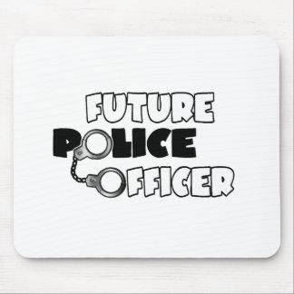 Zukünftiger Polizeibeamte Mauspads