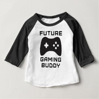 Zukünftiger Spiel-Freund Baby T-shirt