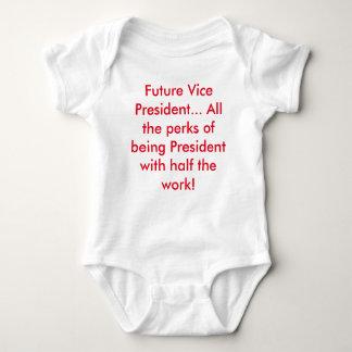 Zukünftiger Vizepräsident… (republikanisches Rot) Baby Strampler