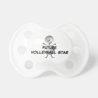 Zukünftiger Volleyball-Stern Schnuller