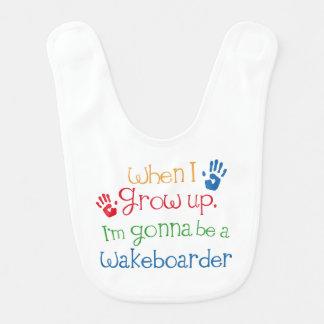 Zukünftiger Wakeboarder-Baby-Schellfisch Lätzchen