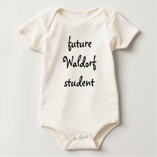 zukünftiger Waldorf Student Baby Strampler