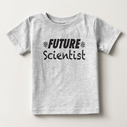 Zukünftiger Wissenschaftler-Baby-T - Shirt