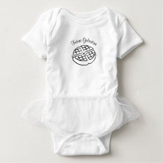 Zukünftiges Galentine Baby-Kleid Baby Strampler