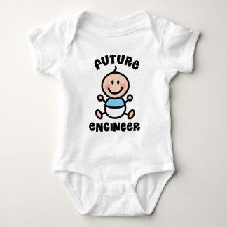 Zukünftiges Ingenieur-Baby-Geschenk Baby Strampler