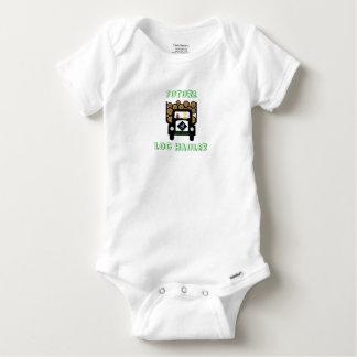 Zukünftiges Klotz-Schlepper-Baby, das Klotz-LKW Baby Strampler