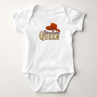 Zukünftiges Rodeo-Königin-Baby Baby Strampler