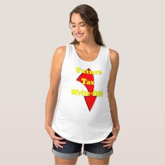 Zukünftiges Steuer-Tilgungs-Mutterschafts-Shirt Schwangerschafts Tank Top