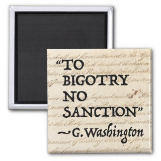 Zum Fanatismus keine Sanktion Quadratischer Magnet