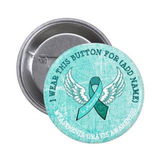 Zum Gedenken an Runder Button 5,7 Cm