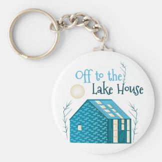 Zum See-Haus Schlüsselanhänger