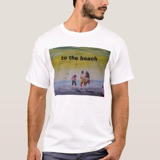 zum Strand T-Shirt