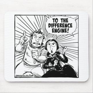 Zum Unterschied-Motor Mousemat Mousepad
