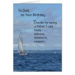 Zum Vati auf Ihrem Geburtstag Grußkarten