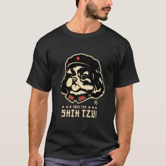 Zunge des Vorsitzend-SHIH-TZU T-Shirt