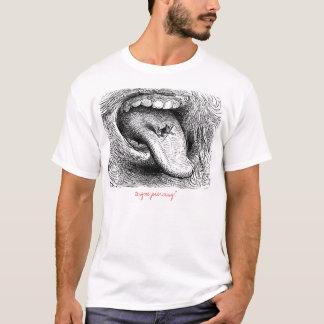 Zunge-Durchdringen? T-Shirt