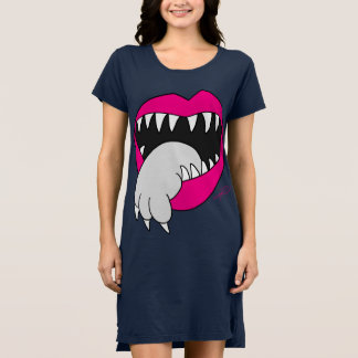 Zunge erhielt Ihr Katzen-Kleid! durch Jesse Lebon Kleid