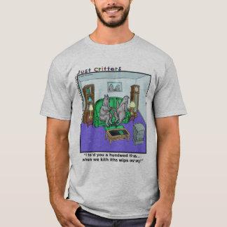 Zunge-Gebunden T-Shirt