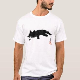 Zunge-heraus Kätzchen T-Shirt