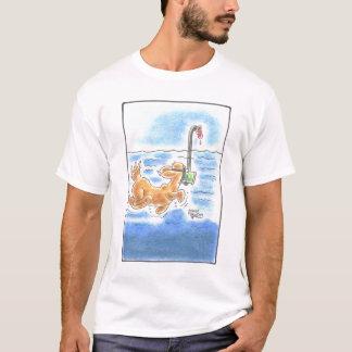 Zunge-Hund T-Shirt