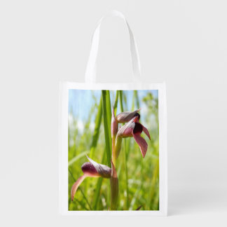 Zunge-Orchideen-wiederverwendbare Tasche Wiederverwendbare Einkaufstasche